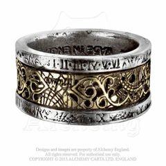 Alchemy Dr. von Rosenstein's Induction Principle Ring