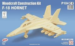 Quay F-18 Hornet Woodcraft Construction Kit