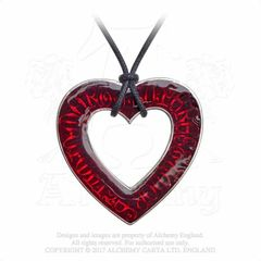 Alchemy Love Over Death necklace