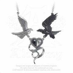 Alchemy Epiphany of St Corvus necklace
