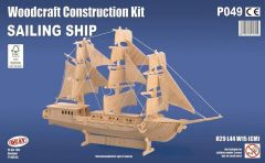 Quay Sailing Ship Woodcraft Construction Kit