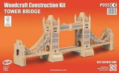 Quay Tower Bridge Woodcraft Construction Kit