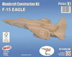 Quay F-15 Eagle Woodcraft Construction Kit
