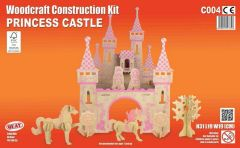 Quay Princess Castle Woodcraft Construction Kit
