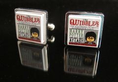 Steampunk Lego® Harry Potter 'The Quibbler' cufflinks