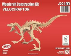 Quay Velociraptor Woodcraft Construction Kit