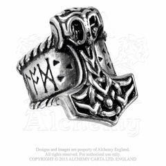 Alchemy Thor's Runehammer Ring