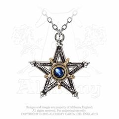 Alchemy Mediaeval Pentacle necklace