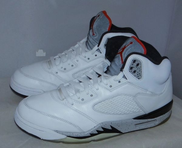 Air Jordan 5 White Cement Size 10.5 136027 104 #4422