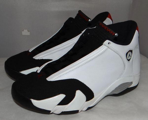 Air Jordan 14 Black Toe Size 8 #4790 487471 102