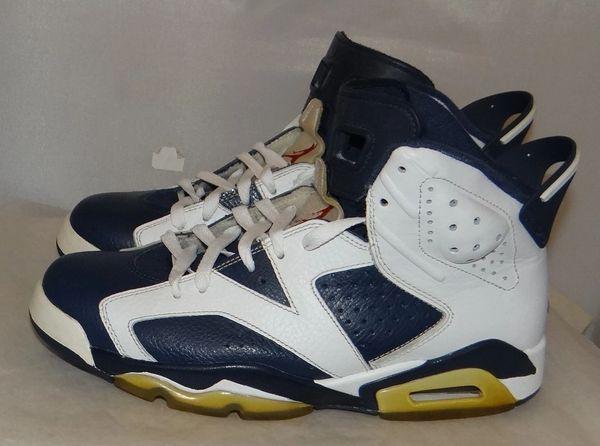 Air Jordan 6 Olympic Size 8.5 384664 130 #4430