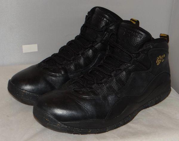Air Jordan 10 nyc Size 11.5 310805 012 #5060