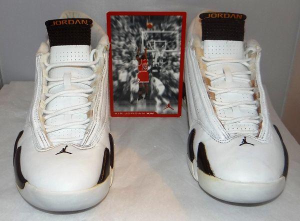 ***Very Rare***Air Jordan 14 Dark Cinder Size 9.5 #2893 2