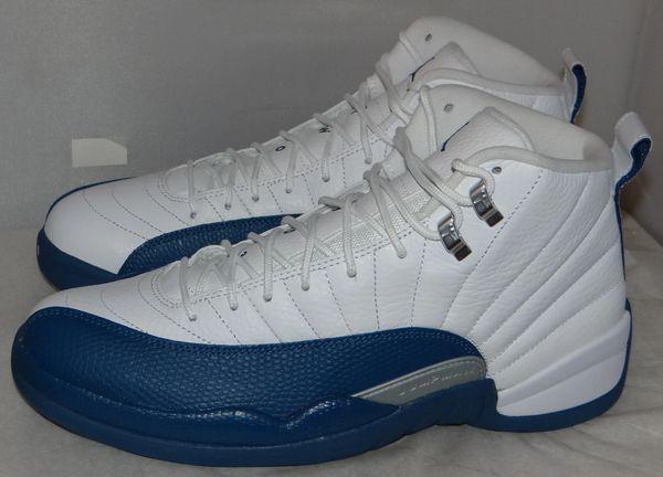 New Air Jordan 12 French Blue Size 10 130690 113 #5110