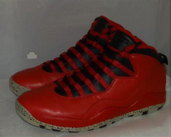 Air Jordan 10 Bulls Size 11 #4865 705178 601