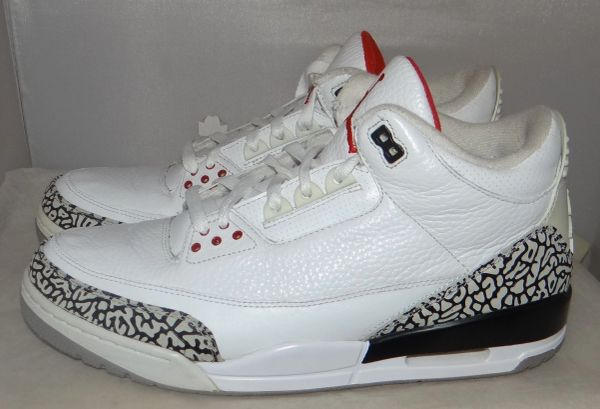 Air Jordan 3 White Cement Size 11 #4696 136064 105