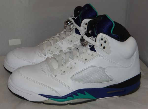 Air Jordan 5 Grape Size 11 136027 108 #5021