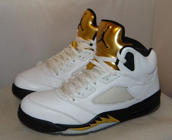 Air Jordan 5 Space Jam Gold Size 11 136027 133 #4724