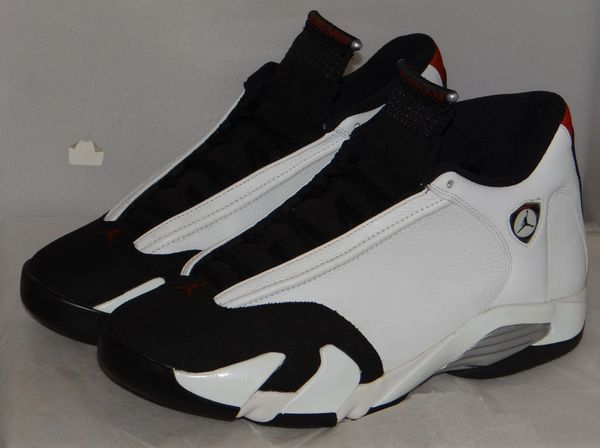 Air Jordan 14 Black Cement Size 11 #5004 487471 102