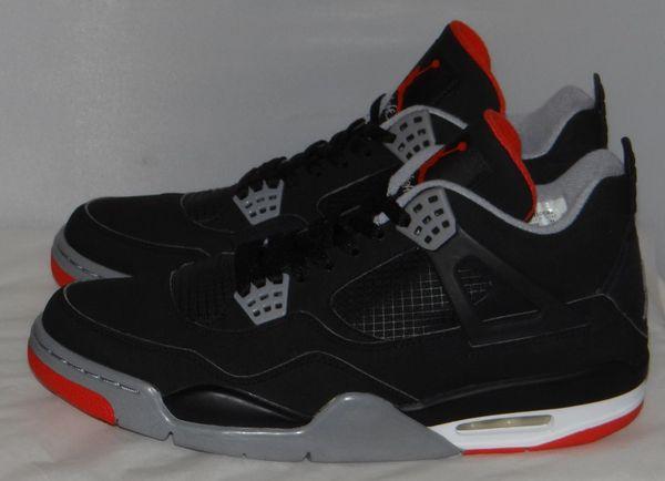 New Air Jordan 4 Bred CDP Size 13 #3791