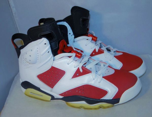 Air Jordan 6 Carmine Size 10 322719 161 #4448
