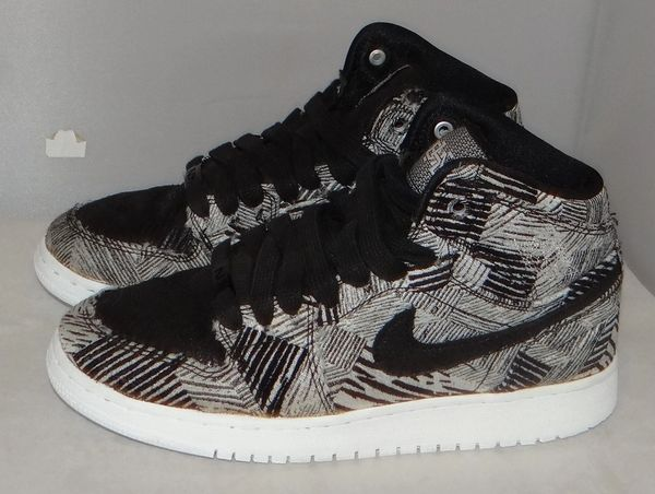 Air Jordan 1 BHM Size 7.5 #4771 739640 110
