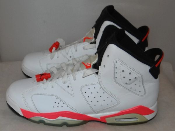 Air Jordan 6 Infrared Size 7 384665 123 #4342