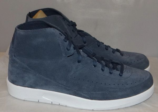 New Air Jordan 2 Decon Thunder Blue Size 13 #4027
