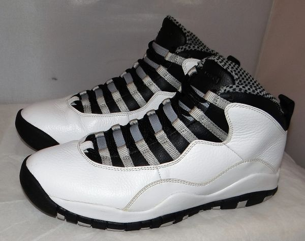 Air Jordan 10 Steel Size 9 #3961