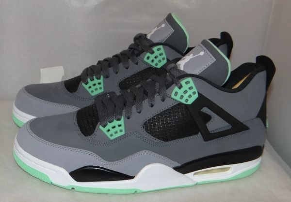 New Air Jordan 4 Green Glow Size 11 #3792 2