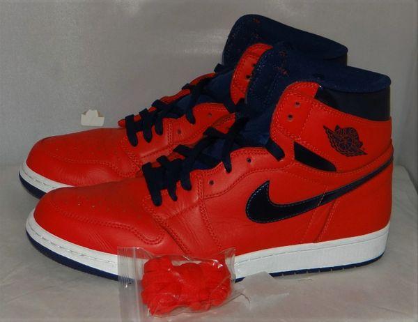 Air Jordan 1 Letterman Size 12 #4973 555088 606
