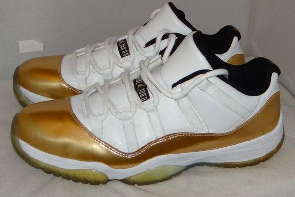 Air Jordan 11 Low Gold Size 11 528895 103 #5108
