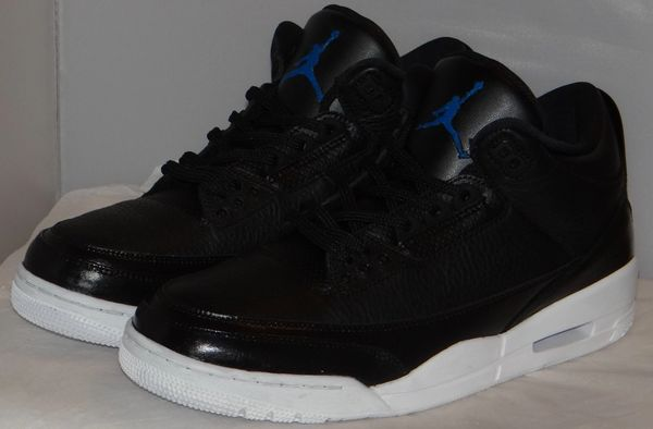 "New Custom Air Jordan 3 ""Space Jam"" Sizes 11.5"