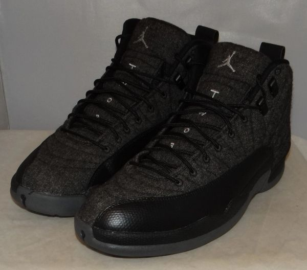 Air Jordan 12 Wool Size 11 852627 003 #4598