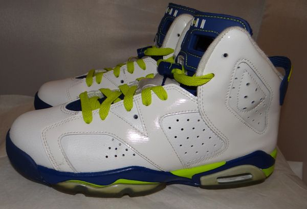 Air Jordan 7 Fierce Green Size 7 #1204
