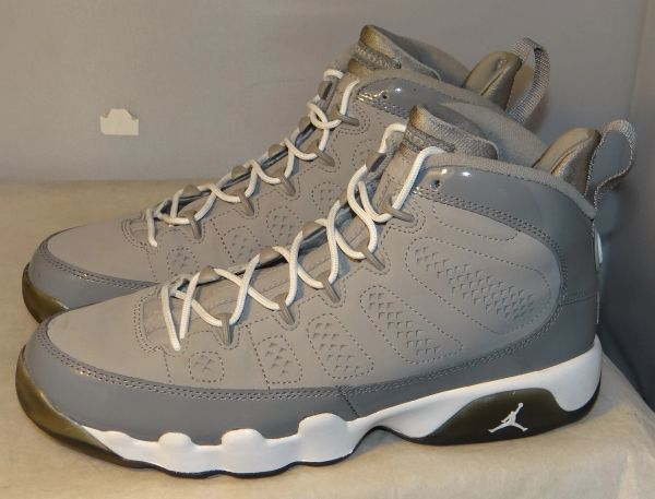 Air Jordan 9 Cool Grey Size 7 #4638 302359 015