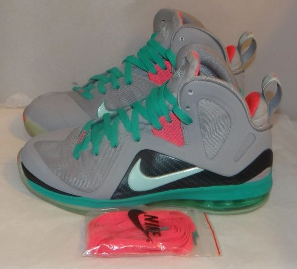 Lebron 9 South Beach Size 7.5 #3477