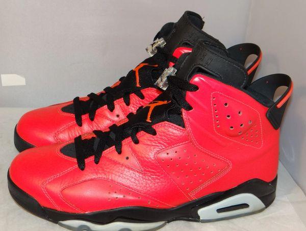 Air Jordan 6 Infrared 23 Size 10 384664 623 #5139