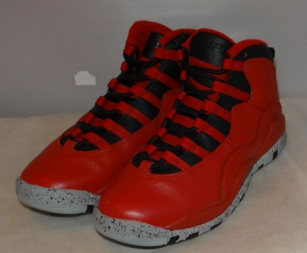 Air Jordan 10 Bulls Over Broadway Size 4.5 705179 401 #4482