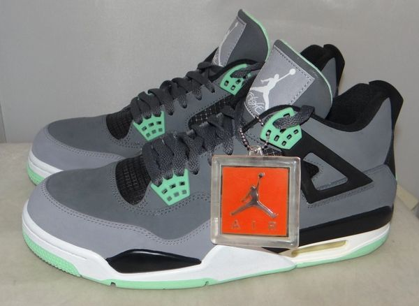 Air Jordan 4 Green Glow Size 10.5 #4709 308497 033