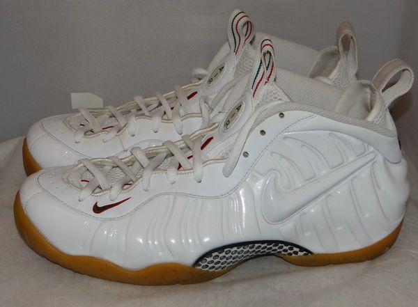 White Gucci Foamposites Size 13 624041 102 #5149
