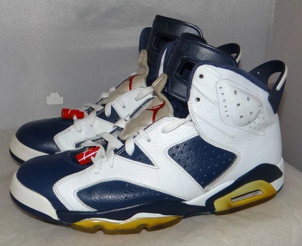 Air Jordan 6 Olympic Size 9 384664 130 #4416