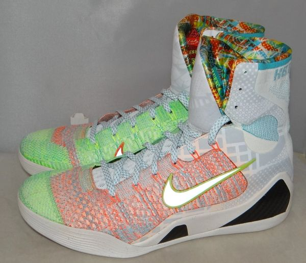 "New, tried on Kobe IX 9 Elite ""What The"" Men's size 11 US 678301-904 #4623"