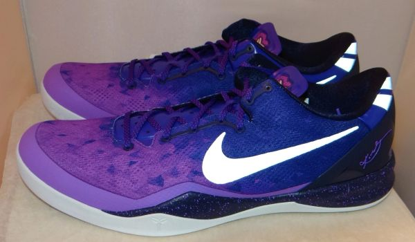 NIKE KOBE 8 VIII SYSTEM PLAYOFF PURPLE SZ 18 555035-500 #4618
