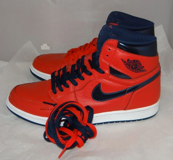 AIR JORDAN 1 DAVID LETTERMAN SIZE 11 555088 606 #4749