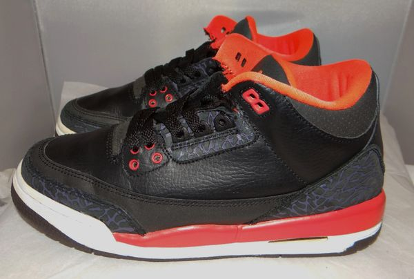 Air Jordan 3 Crimson Size 5 #2213