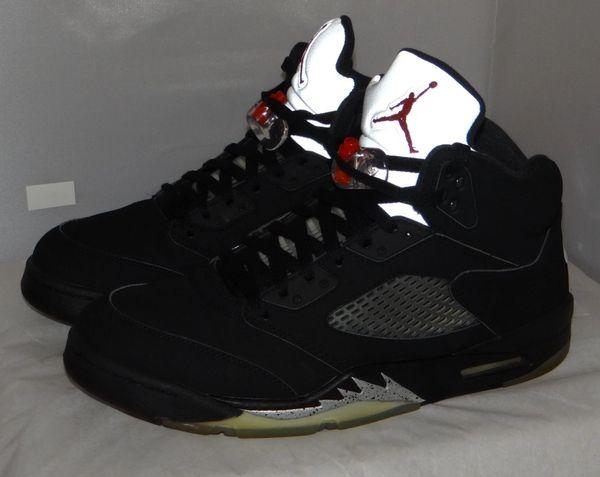 Air Jordan 5 Metallic Size 11 845035 003 #5024