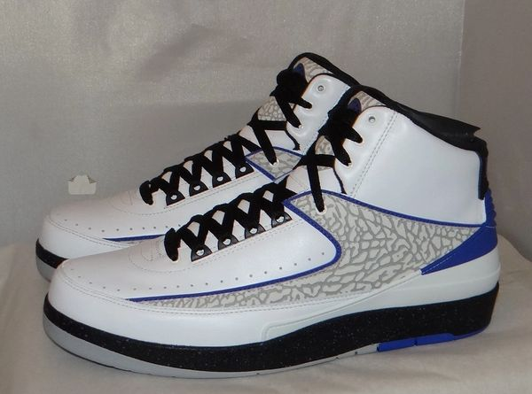 New Air Jordan 2 Concord Size 11.5 385475 153 #5016