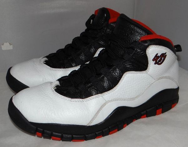 Air Jordan 10 Chicago Size 9 310805 102 #4789