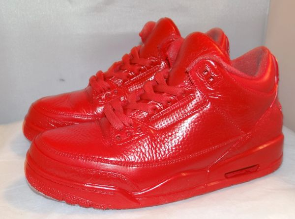 Custom Air Jordan 3 Size 8 #3968